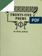 Book of Recent Poem 00 Kirk