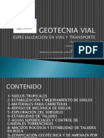 Geotecnia Vial Sesion 1 (14 y 15 Sept 2014)