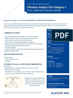 Alstom MSc VCAT1 2013 Course Brochure