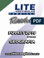 Elite Resolve Fuvest 2fase 2010-EspGeo