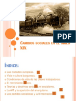 Cambios Sociales en El Siglo XIX