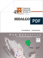 Drogas, Cifras Hidalgo