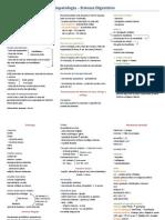 Resumo - Sistema Digestório - Fisiopatologia
