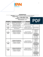 Plano de Aula de Regional 2009 1
