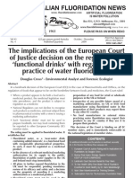 The Australian Fluoridation News