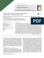 An Assay to Monitor Secretory Phospholipase A2 Using ANSA