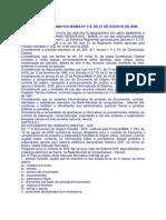 In IBAMA Nº 112 de 21.08.06 - DOF e Conceito Produto e Subproduto Florestal