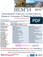 Call for Papers IBEM'14
