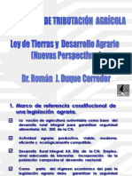 Ley  de Tierras y  Desarrollo Agrario ROMAN DUQUE C.ppt