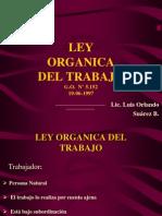 Ley Organica del Trabajo (sector rural).ppt