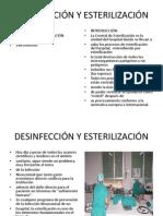 Desinfección y Esterilización