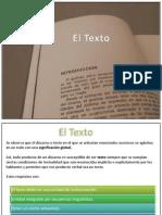 El Texto (Concepto y Propiedades)