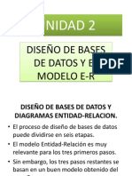 2.1 El Proceso de Diseño y 2.2 Modelo E-r