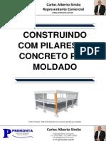 Construindo Com Pilares de Concreto Pre-Moldado