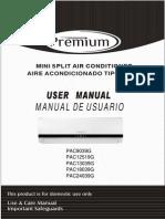 Manual PAC9039G