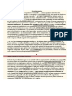 El Texto Argumentativo Suele Organizar El Contenido Entres Apartados