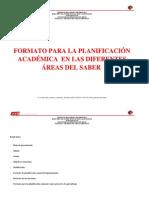 Formato Planificacion Bolivariana