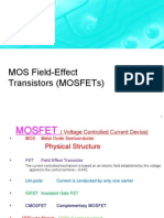 Lectures Chpter#4 MOSFET of Sedra Semith (Micro electronic circuits)