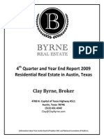 Residential Real Estate Report