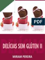 Delicias Sem Gluten II Miriam Pereira