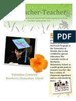 teacher interview artifact