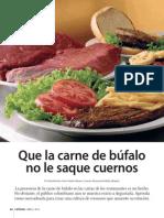 Carne de Bufalo