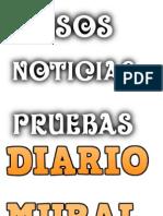 Letras Diario Mural