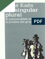 Un singular plural (OCR)