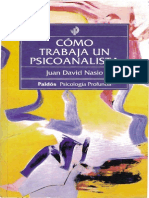 Cómo trabaja psicoanalista (OCR)