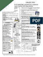 grade 2 social studies sol review sheet
