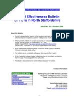 Clinical Effectiveness Bulletin 33 - October 2009