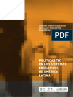 Políticas TIC en la Educación Latinoamericana
