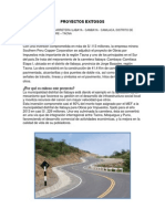 PROYECTOS EXITOSOS-carretera Ilabaya – Cambaya – Camilaca