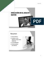 Deglucion en El Adulto Mayor - l. Toledo