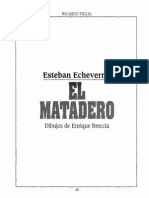 1820-1852. Esteban-Echeverria- El Matadero (Por Breccia y Piglia)