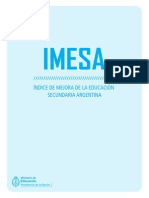 IMESA Documento Marco