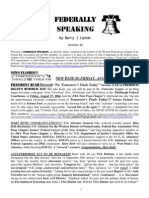 Federally Speaking 42 by Barry J. Lipson, Esq