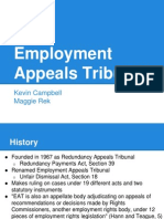 Employment Appeals Tribunal