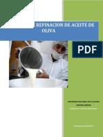 Tecnologia de Alimentos II...Informeaceite