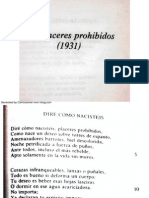 Luis Cernuda, Los Placeres Prohibidos