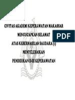 Civitas Akademi Keperawatan Makassar