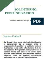 Control Interno, Profundizacion - Unidad i