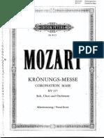Missa Da Coroação Mozart 0001
