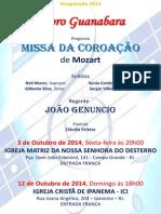 Convite Temporada 2014 - Missa Da Coroação