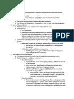 Notes From Drug Metabolism