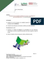 PLANO AVALIAÇÃO - DOMÍNIO B - B.2  E B.3. SESSÃO 5