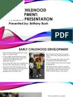 bhall-parent presentation early childhood development