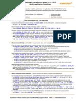 AHM v1.1 R75 Guidelines