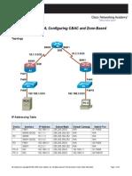 Security Chp4 Lab-A CBAC-ZBF