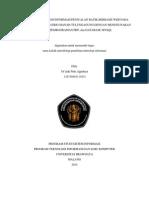 Perancangan Sistem Informasi Penjualan Batik Berbasis Web